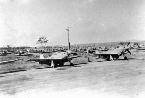 Image: World War II aeroplanes at RAAF base c1946 Source: Dpt. of Defence