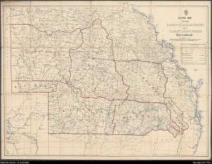 Image: Rabbit Board Districts and Fences Map Source: National Library of Australia