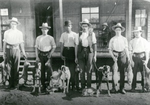 Image: Rabbit Catchers Source: Oakey Library