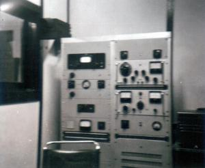 Images: STC Transmitter installed at the 4AK Oakey Studio c 1936 Source: Don Storey
