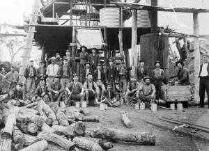 Image: Federal Mine Workers c1920 Source: Dpt. of Defence