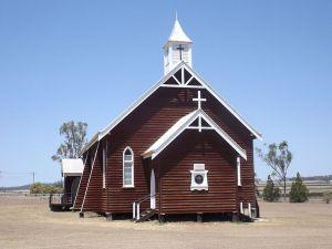 Image: St Johns Lutheran Church Aubigny 2014 Source: Wikipedia