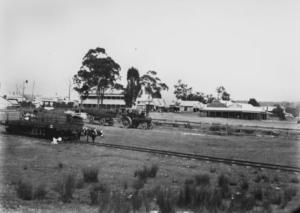 Image: Railway Yard c.1911 Source: State Library Queensland