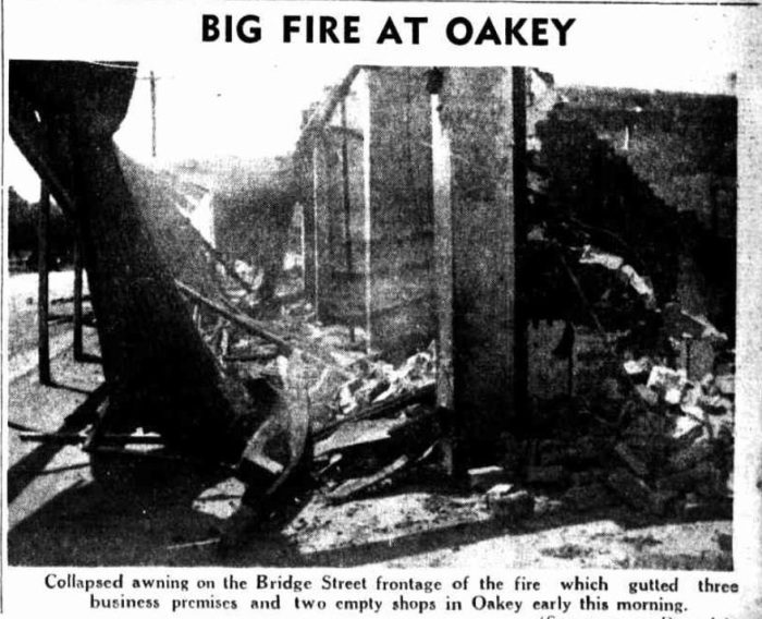 Image: Store Frontage Destruction Source: Telegraph, 29/12/1939 pg. 9